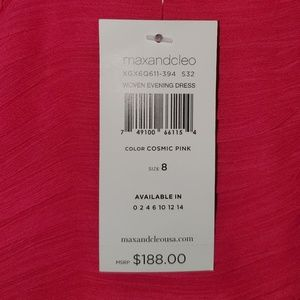 MaxandCleo size 8 pink gown